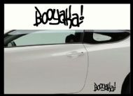 BOOYAKA! CAR BODY DECALS